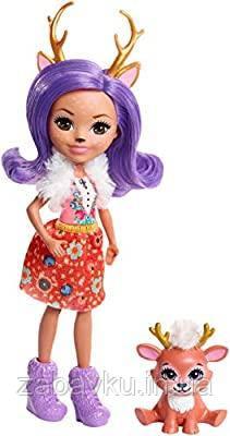 Енчантімалс Данесса Оленя Enchantimals Danessa Deer Doll & Sprint Figure