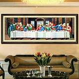 """Набор для вышивки крестом,,Тайная вечеря""""96х42, фото 6"""