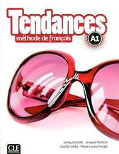 Tendances A1 Livre de l'élève avec DVD-ROM - Cle International / Учебник