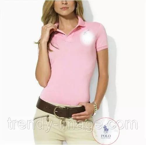 В стиле Ральф поло женская футболка жіноча поло