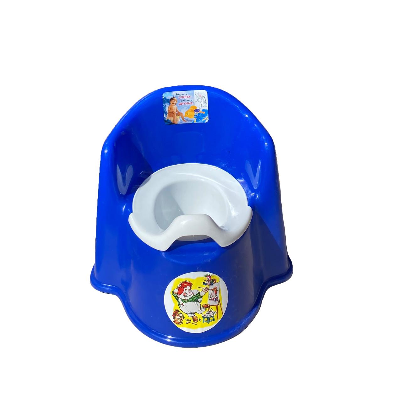 Горшок детский стул, СИНИЙ Консенсус