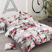 Комплект постельного белья Розы материал Ранфорс - 4 размера Двуспальный