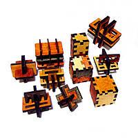 Набор 3D-головоломок Десятка Крутиголовка