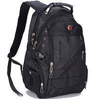 Black Swiss BagРюкзак Swissgear Черный