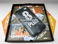 Чехол-аккумулятор Moxom для iPhone 7 Plus/8 Plus 4000 мА/ч с дополнительной встроенной вспышкой Черный