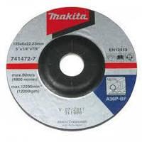Шліфувальний диск для сталі Makita 741472-7 (125/6/22.2)