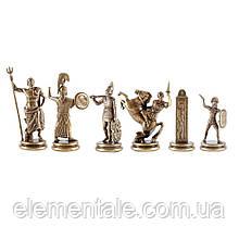 Шахматы Manopoulos Греческая мифология 34 х 34 см 3кг Настольные Элитные Эксклюзивные Греческие Подарочные