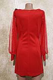 Червоне коктейльне плаття. Червоне Коктейльне плаття., фото 3