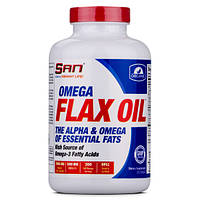 Omega Flax Oil (Organic) - 200caps - SAN
