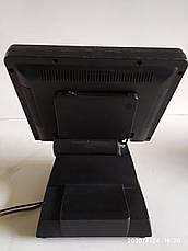 Б/у Сенсорный POS монитор S-POS 512, 12-дюймов Монитор EBN с ридером магнитных карт, нет блока питания, фото 3