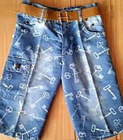 Бриджи джинсовые Ключик, фото 1