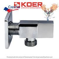 Кран приборный угловой  1/2x1/2  Koer 512