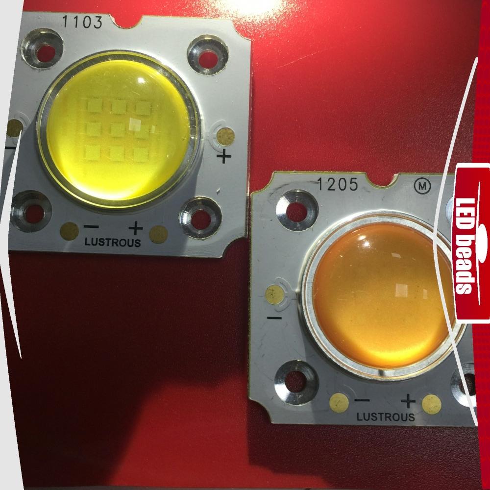 Светодиод 20w с линзой, светодиодная матрица 20w 27-31V 5700K