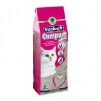 Vitakraft Compact ultra наполнитель для кошачьего туалета из бентонита, 2кг