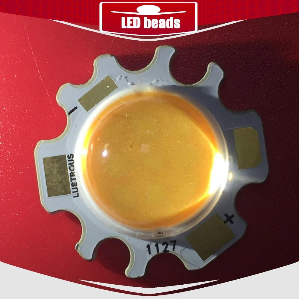 Світлодіод 15w з лінзою, світлодіодна матриця 20w 27-31V 3000K (Тайвань)