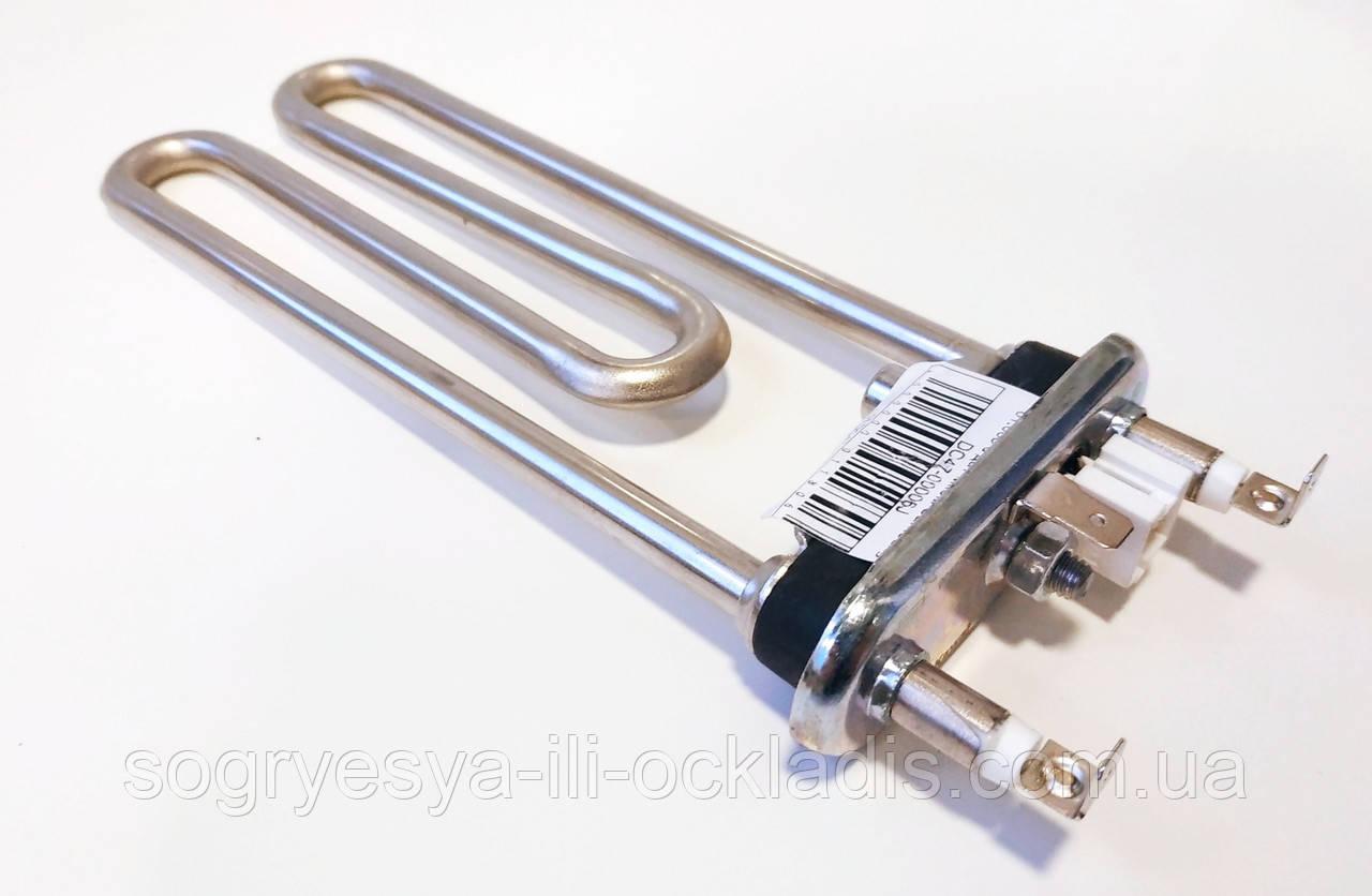 Тэн для стиральной машины l=175mm P=1900W 01.005 с датчиком Samsung DC47-00006J код товара: 7447