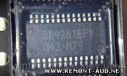Микросхема BD9261EFV TSSOP-28