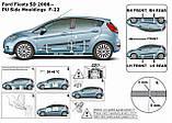 Молдинги на двері для Ford Fiesta 5Dr 2008-2017, фото 9