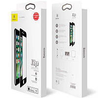 Защитное стекло Baseus (OR) All-Screen Tempered Glass iPhone 7Plus/8 Plus (SGAPIPH8P-KA01) Black (0.3mm)