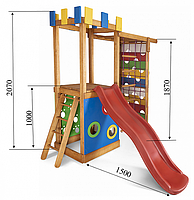 Детский игровой комплекс для дома Babyland-15 SportBaby, фото 1