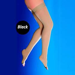 Компрессионные чулки с открытым носком, 2 класс компрессии (22-33 мм рт.ст.) OSD-2335