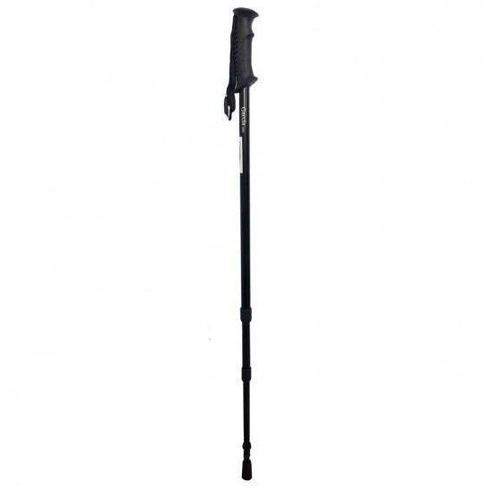 Трекинговая палка телескопическая черная 69N Garcia