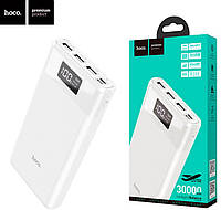 Внешний аккумулятор Power Bank Hoco B35E Entourage 30000 mAh (Белый)