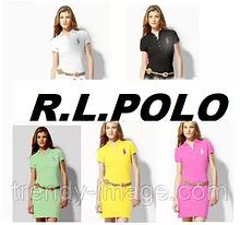 У стилі Ральф поло жіноча сукня 100% бавовна ралф