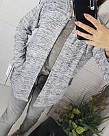 Кардиган -парка серый 48-50 размер, фото 1