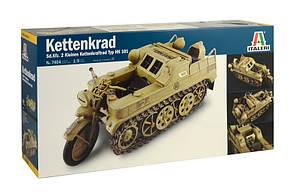 KETTENKRAD. Сборная модель в масштабе 1/9. ITALERI 7404