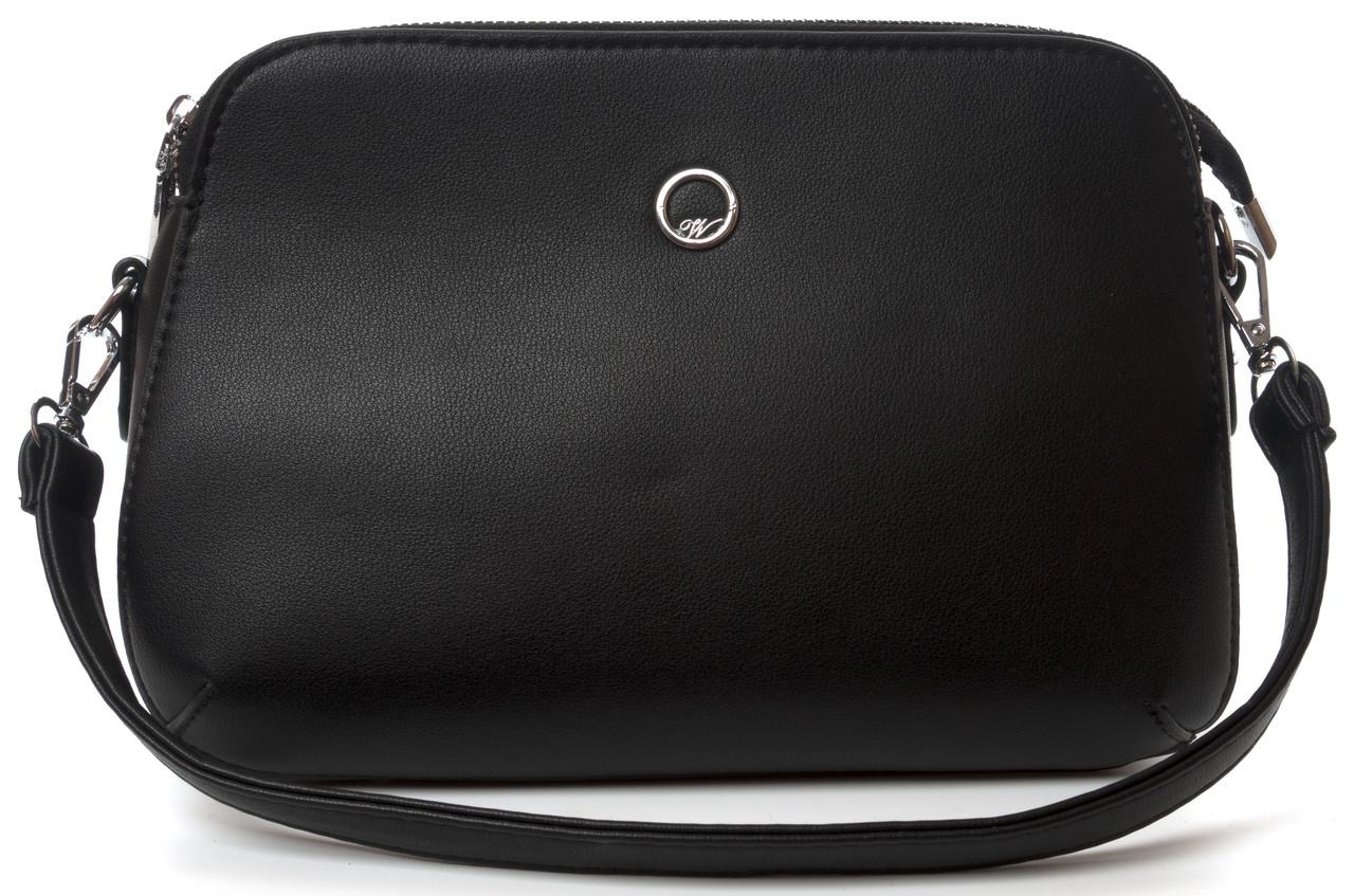 Небольшая аккуратная прочная женская сумочка с очень качественного заменителя WEILIYA art. F1908