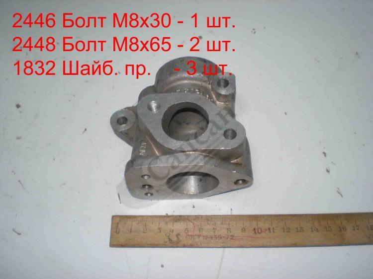 Патрубок выключателя  гидромуфты  (ЕВРО). 7405.1303168