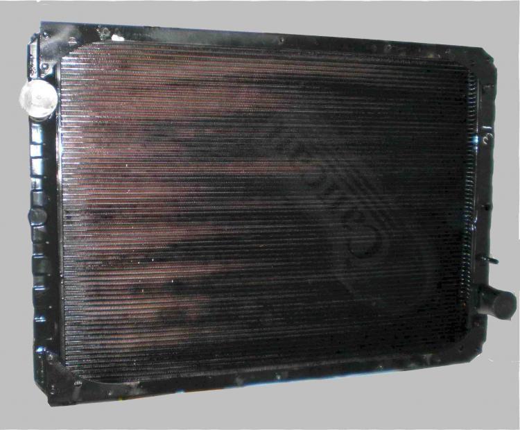Радиатор водяного охлаждения. (производство ШААЗ) CuproBraze 3-х ряд.). 6520-1301010