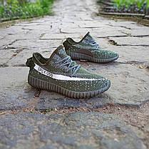 Кросівки чоловічі кеди під Adidas Sply 350 хакі зелені Адідас на кожен день, для занять спортом бігу), фото 2