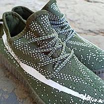 Кросівки чоловічі кеди під Adidas Sply 350 хакі зелені Адідас на кожен день, для занять спортом бігу), фото 3