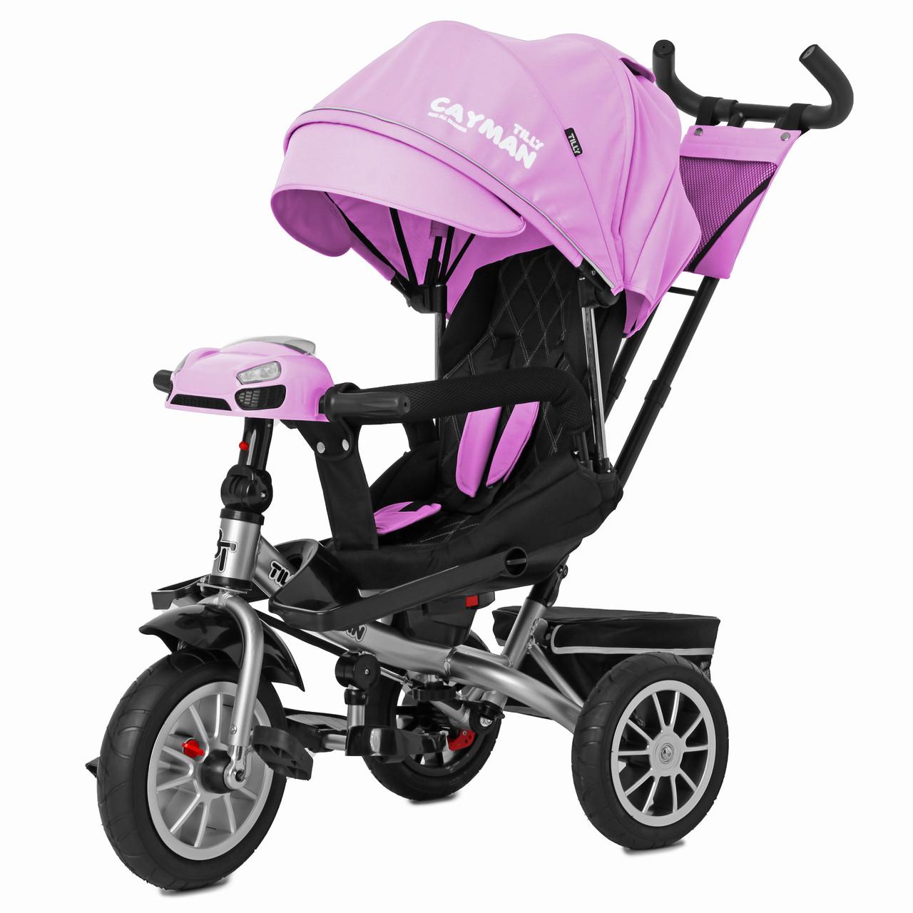 Детский трёхколёсный велосипед Cayman, «Tilly» (T-381/3), цвет Pink (розовый)
