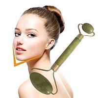 Нефритовый массажер для лица  Flbwles Conto