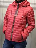 Жіноча демісезонна куртка з плащової тканини на весну і осінь, р-ри 44-54, багато кольорів., фото 2