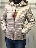 Жіноча демісезонна куртка з плащової тканини на весну і осінь, р-ри 44-54, багато кольорів., фото 5