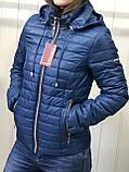 Жіноча демісезонна куртка з плащової тканини на весну і осінь, р-ри 44-54, багато кольорів., фото 9