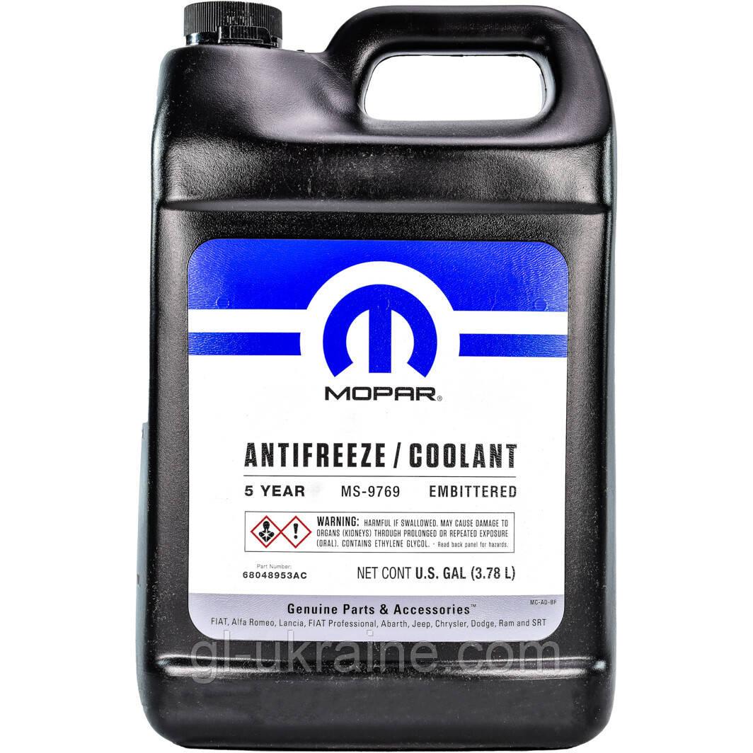 Антифриз концентрат Mopar Chrysler Antifreeze 68048953AC 5 YEAR, 3.78 л