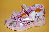 Дитячі Босоніжки Тому.М Китай 7554 Для дівчаток Рожевий розміри 26_31, фото 1