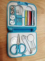 Дорожный швейный набор для шитья и рукоделия в футляре 20 позиций