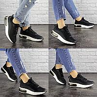 Женские летние черные кроссовки Zeke 1681 Сетка  Размер 38 - 24,5 см по стельке, обувь женская
