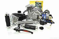 Двигатель Дырчик/ Веломотор 80 см3 TMMP Ф80 Веломотор в сборе с ручным стартером, фото 1