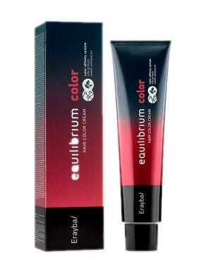 Крем-краска для волос Erayba Equilibrium Hair Color Cream 6/10 - пепельный темно-русый