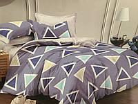 Комплект постельного белья Постелька «Треугольник» из Сатина 220.0 (см), 220.0 (см), 1 (шт), Двуспальный, 180.0 (см), 200.0 (см)