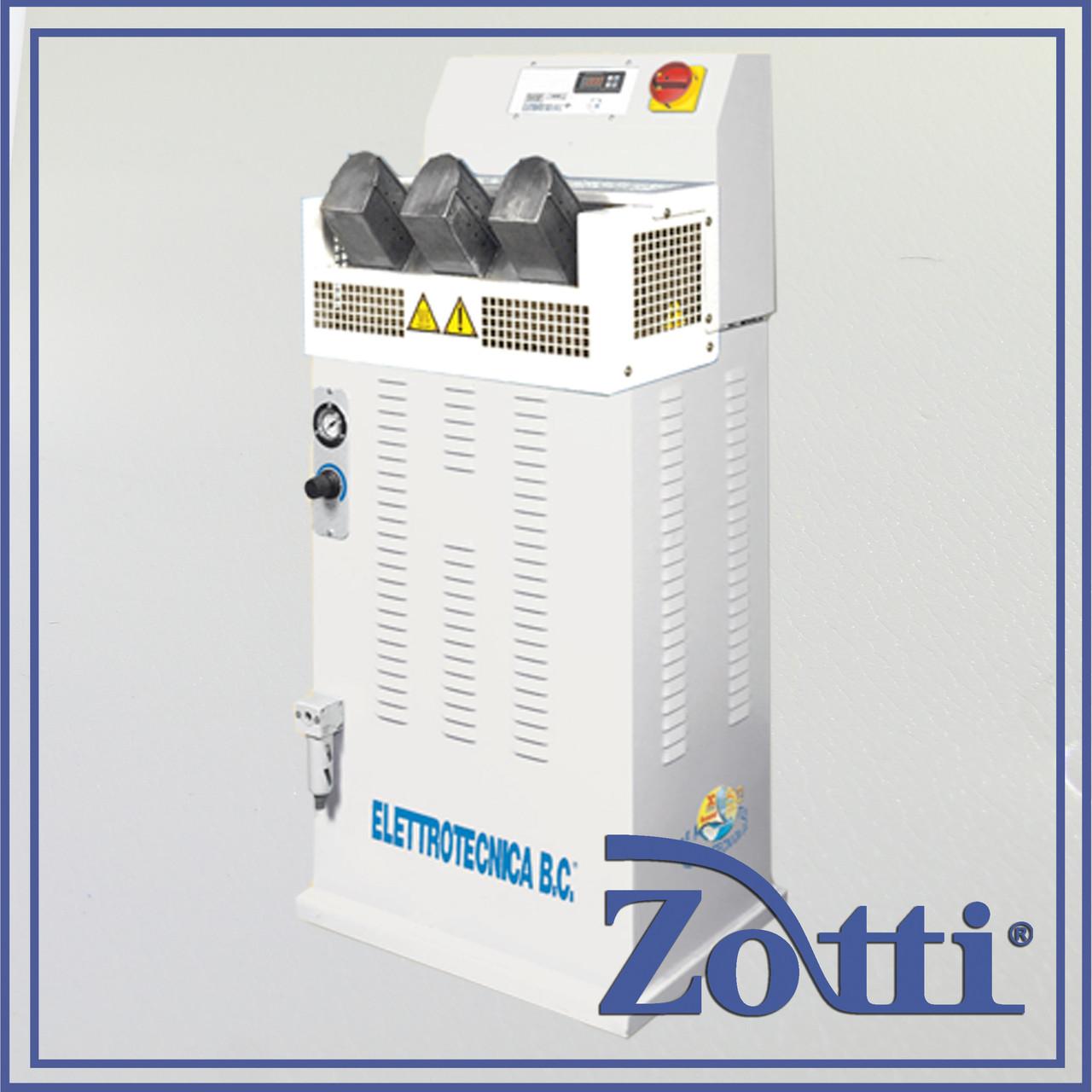 Машина для распарки и реактивации пятки перед затяжки на колодку mod. 232. Elettrotecnica 232 (Италия)