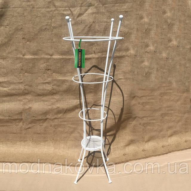 Подставка для зонта белая Бамбук