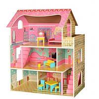 Деревянный домик для кукол Bambi MD 2203, фото 1